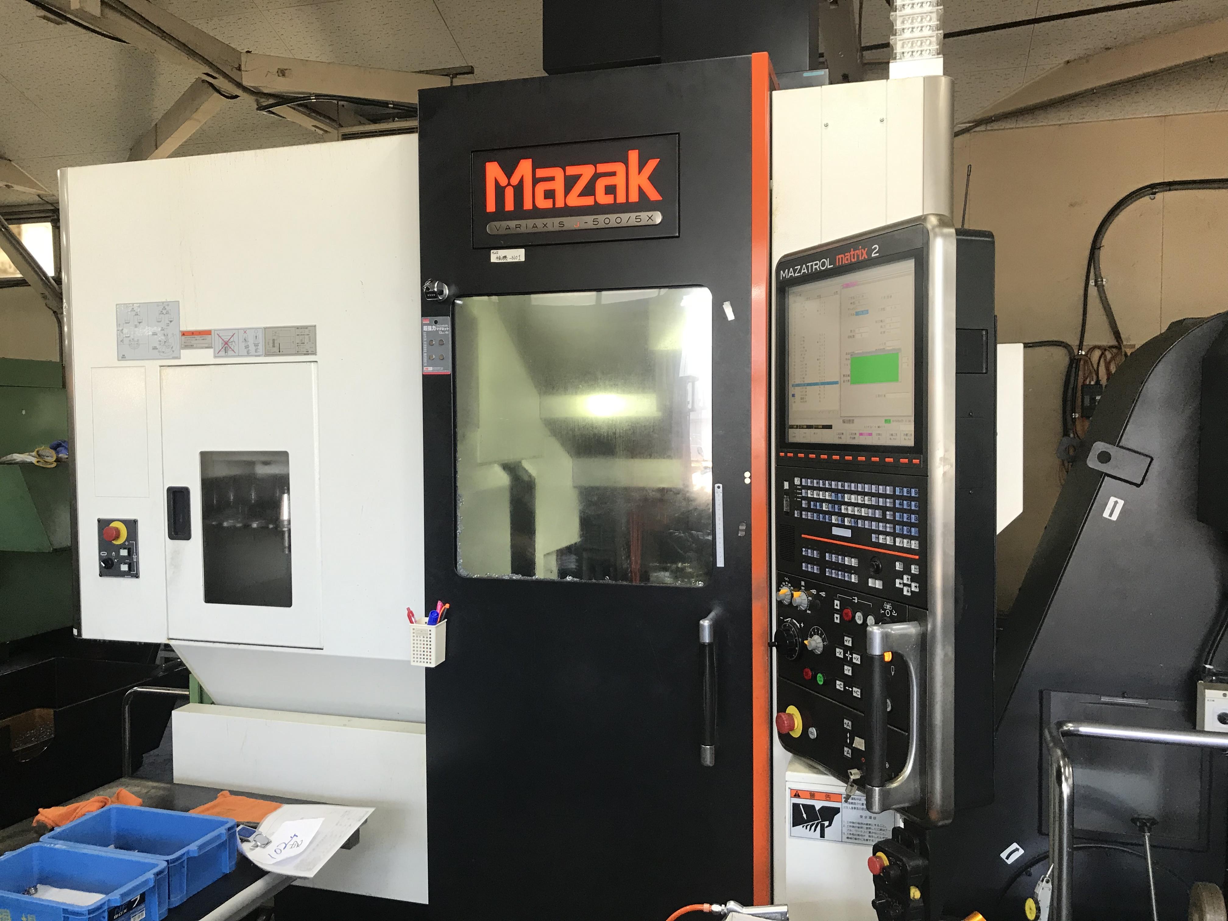 ヤマザキ マザック 5軸加工機